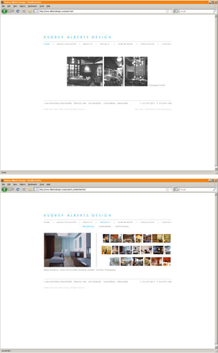 2005 v1.0 HTML site