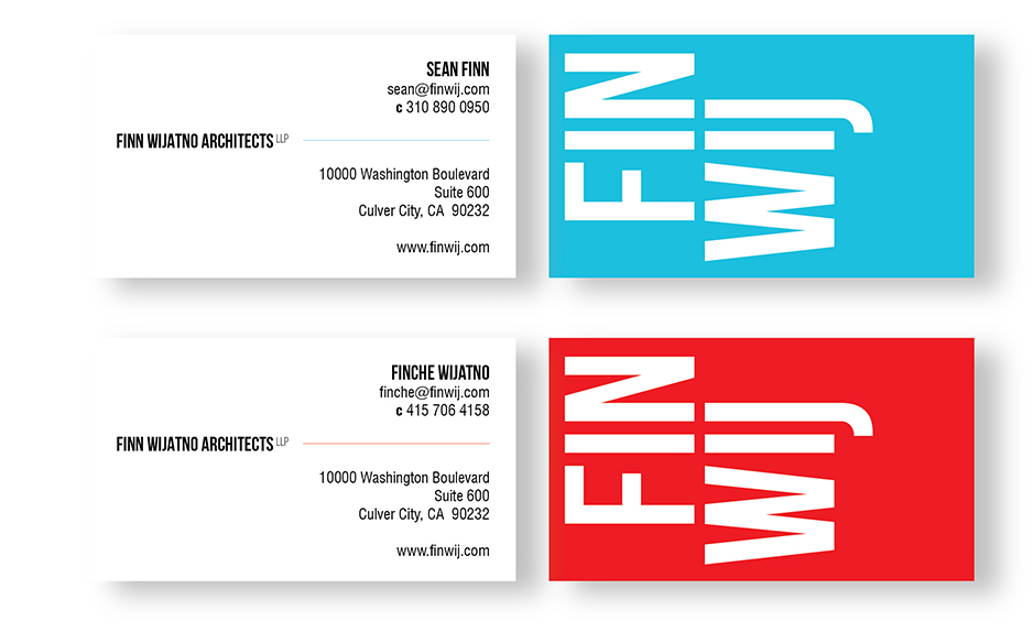 FINWIJ Business Cards